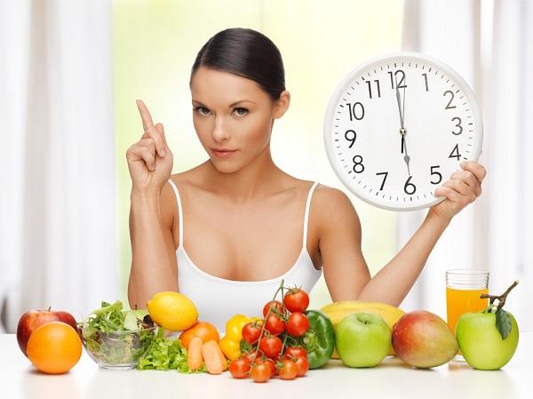 Chuẩn về thời gian ăn uống