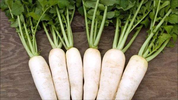 Giảm cân bằng cách bổ sung củ cải