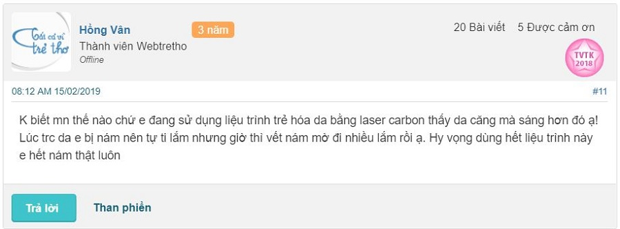 review bắn laser carbon webtretho, bắn laser carbon có tốt không, bắn laser carbon có tác dụng gì, bắn laser carbon than hoạt tính, bắn than hoạt tính webtretho, có nên bắn laser carbon, tác dụng phụ của laser carbon, trị tàn nhang bằng laser webtretho