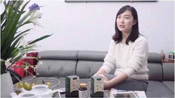 Chị Vân bày tỏ hài lòng khi sử dụng mầm đậu nành Flagold