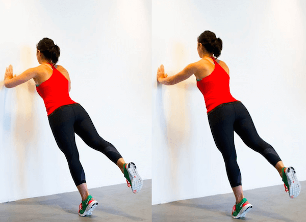 Các bài tập chống đẩy với tường