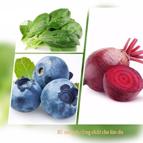 Ngăn ngừa lão hóa da bằng các loại thực phẩm