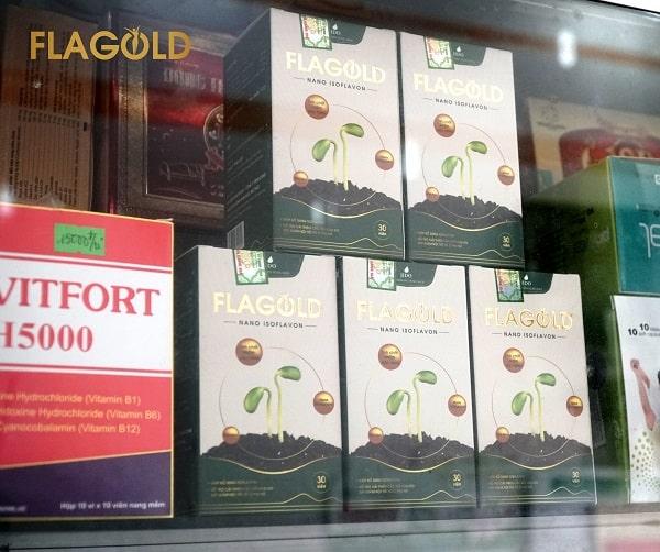 Sử dụng mầm đậu nành Flagold là cách cải thiện nám da sau sinh hiệu quả