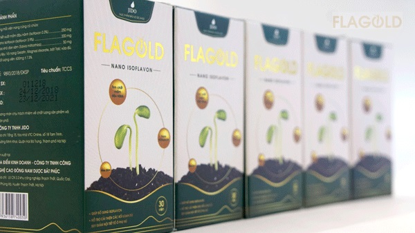 Mầm đậu nành Flagold giúp bổ sung và cân bằng nội tiết tố nữ