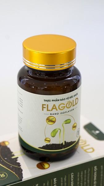 Mầm đậu nành Flagold chữa yếu sinh lý nữ
