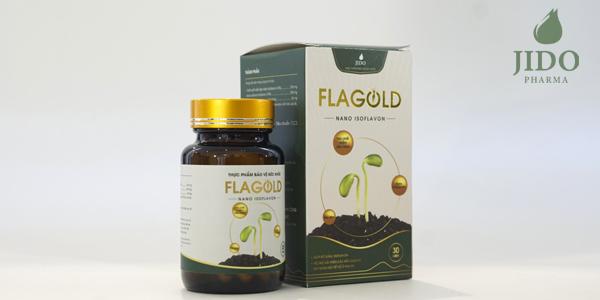 Mầm đậu nành Flagold cải thiện nám sạm da