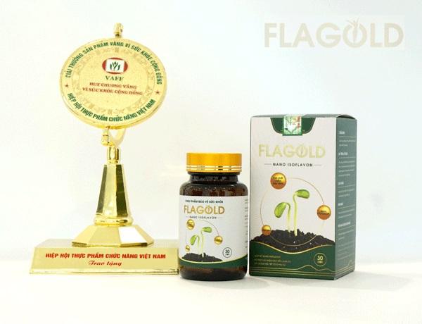 Mầm đậu nành Flagold giúp bổ sung nội tiết tố nữ