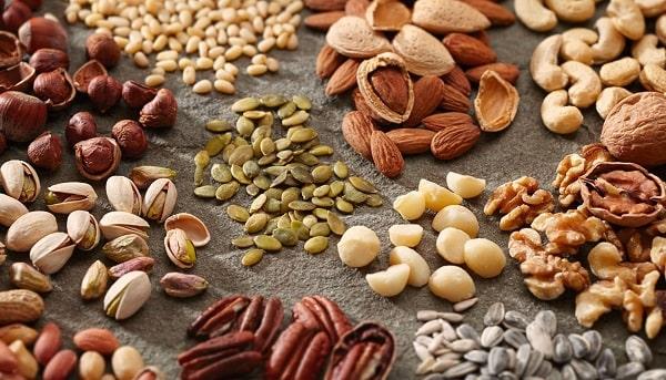 Các loại hạt khô giàu chất khoáng, canxi thúc đẩy quá trình sản xuất Estrogen
