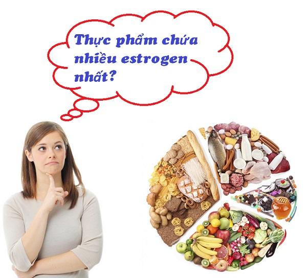 Thực phẩm chứa nhiều estrogen nhất bạn nên bổ sung ngay cho mình
