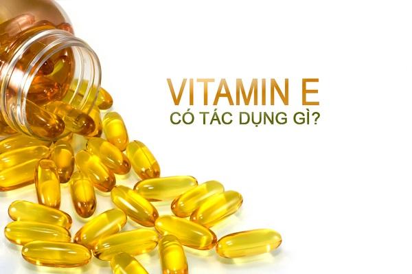 Uống vitamin E có đẹp da không?
