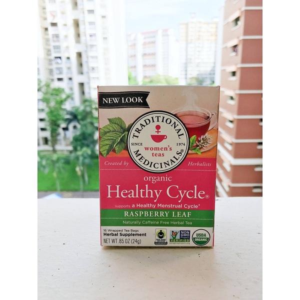 Trà Healthy Cycle review có tốt không? Trà hữu cơ điều hòa kinh nguyệt