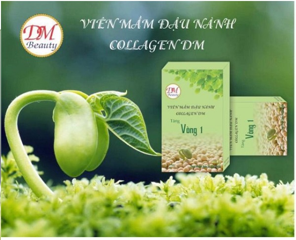 Viên mầm đậu nành Collagen DM có tốt không? Review chi tiết