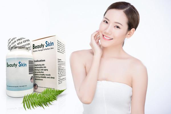 Viên uống Beauty Skin có tốt không? Đánh giá từ người dùng