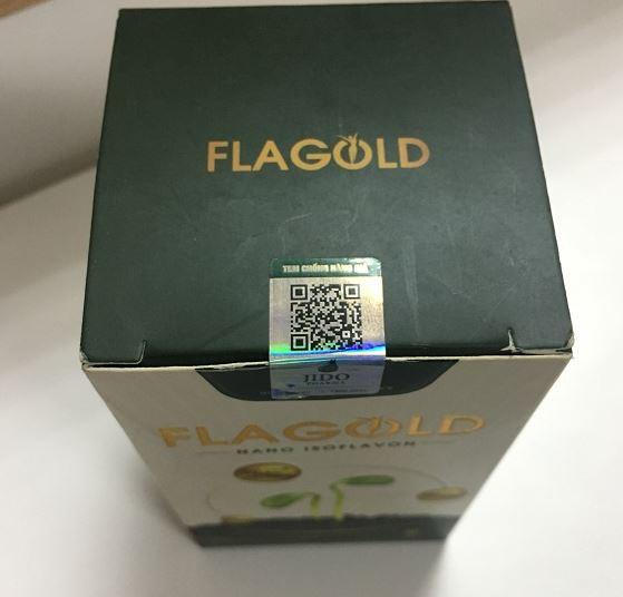 cáchnhận biếtNano mầm đậu nành FlaGold chính hãng