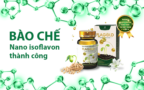 Hàm lượng isoflavon trong mầm đậu nành