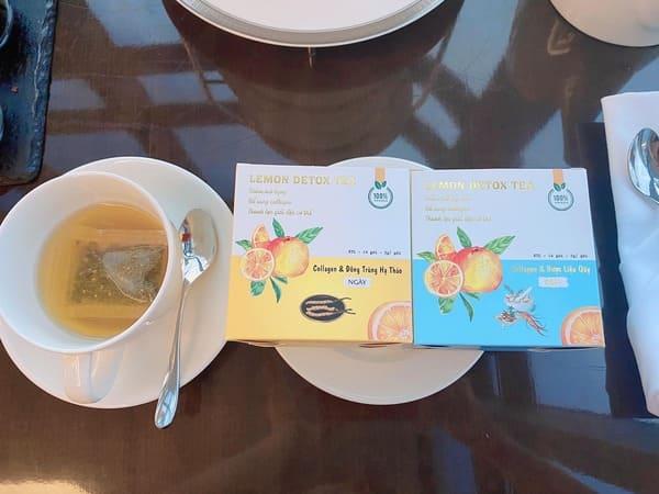 Thảo mộc giảm cân Lemon Detox Tea tốt cho sức khỏe